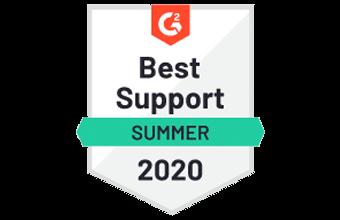 G2 Best Support 2020