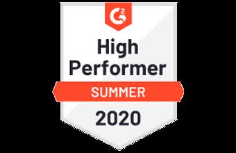 G2 High Performer 2020